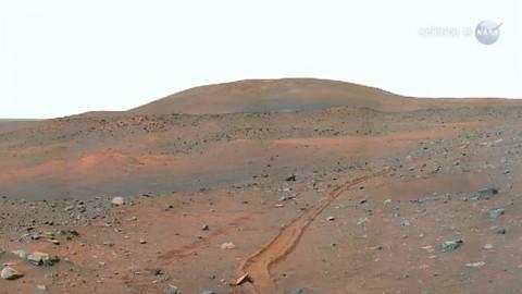 Das Ziel von Curiosity - der Gale-Krater