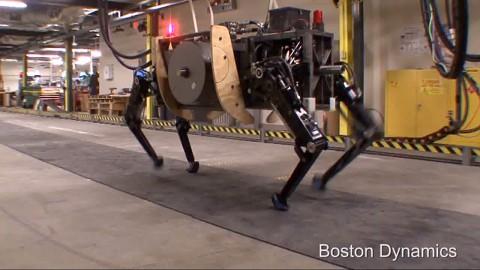 Transportroboter Alpha Dog - Boston Dynamics