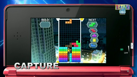 Tetris Axis für 3DS (Trailer, Gameplay)