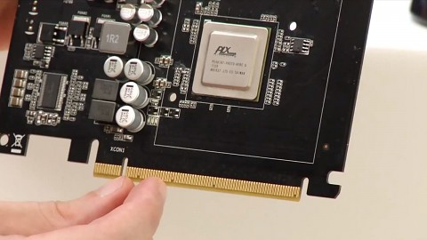 Asus zeigt PCI-Express 3.0 mit SSD