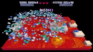 Voxatron - Actionspiel mit Voxelgrafik