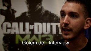 Modern Warfare 3 - Robert Bowling im Interview