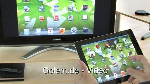 Apple TV mit iOS 5 steuern
