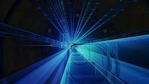 Animation einer Protonenkollision im LHC - Cern