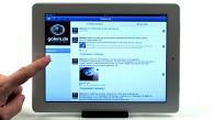 Facebook-App für iPad und Magic Land Island