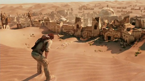Uncharted 3 - Trailer (Gameplay, Desert Village)