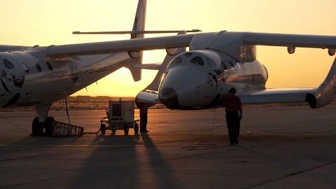 Testflug von Spaceship 2 - Virgin Galactic