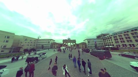Wurfkamera mit 36 Digitalkameras macht Panoramaaufnahmen