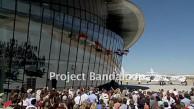 Virgin Galactic weiht Raumflughafen Spaceport Amercia ein