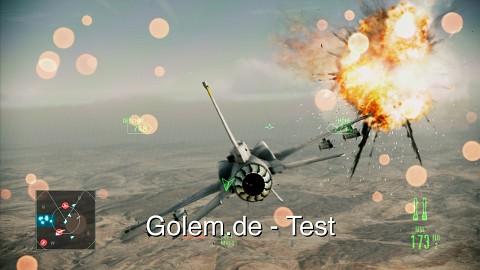 Ace Combat Assault Horizon - Test