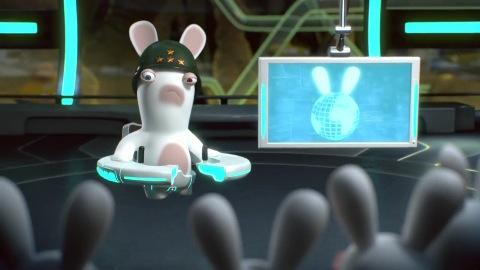 Rabbids Alive and Kicking - Augmented Reality