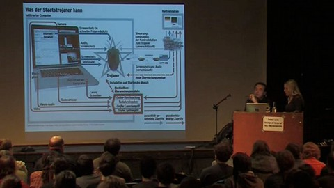Datenspuren 2011 - Vortrag über den Bundestrojaner