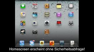 iOS-5-Sicherheitslücke auf dem iPad 2