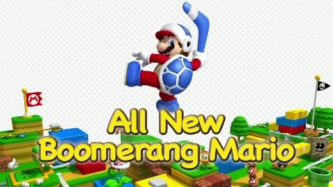 Super Mario 3D Land - Trailer (Boomerang)