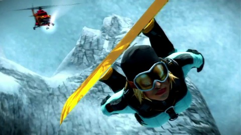 SSX - Trailer (Gameplay, Survive It)