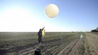 Start der Nikon D300s am Wetterballon