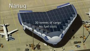 Solar Ship - Hybrid aus Solarflugzeug und Luftschiff