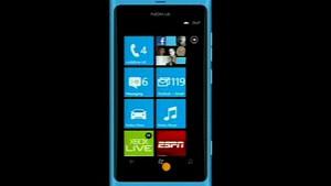 Präsentation von Windows Phone 7.5 auf dem Lumia 800