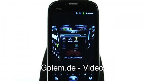 Huawei Vision - 3D-Karussell auf Android-Startbildschirm