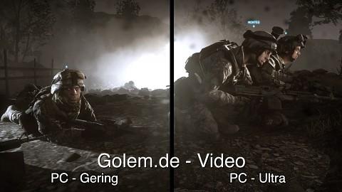 Battlefield 3 - Grafikvergleich (PC, Xbox 360, PS3)