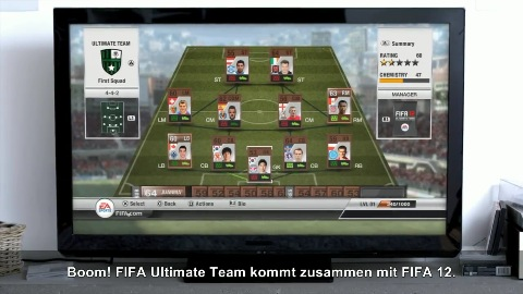 Fifa 12 - Trailer (Ultimate Team)