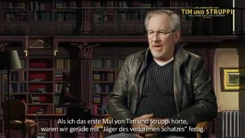 Spielberg und Jackson über Tim und Struppi