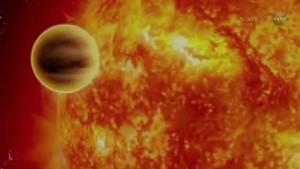 Nasa Stern mit Spiralarm entdeckt