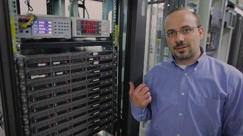 HP führt durch das Discovery Lab in Houston