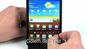 Samsung Galaxy Note - Test