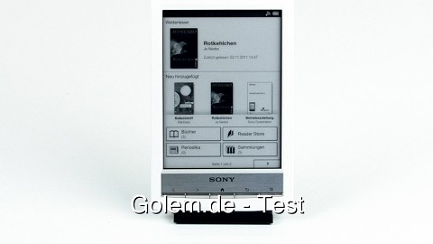 Sony Reader Wi-Fi PRS-T1 - Test