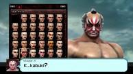 Soul Calibur 5 - Der Charaktereditor