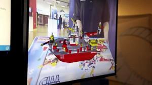 Intel zeigt das Lego-Display mit Augmented Reality
