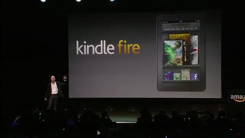 Amazon Kindle Fire - Pressekonferenz