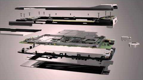 Motorola Razr - Aufbau (Herstellervideo)