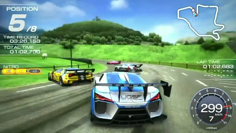 Ridge Racer für Vita - Trailer (Gameplay)