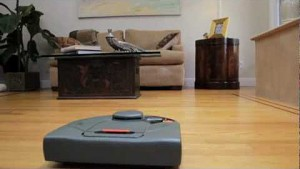 Neato Robotics zeigt seine Saugroboter in Aktion