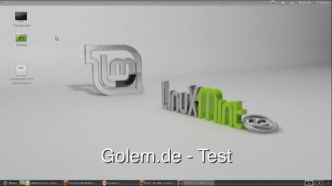 Linux Mint 12 alias Lisa - Test