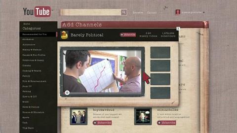 Neues Design von Youtube (Dezember 2011)