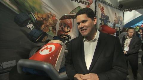 Mario Kart 7 - Reggie bei West Coast Customs