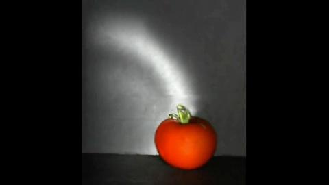 Aufnahmen mit der Trillion Frames Camera (Frucht)