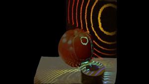 Aufnahmen mit der Trillion Frames Camera (Klebeband)