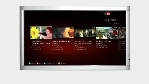 Youtube-App für Xbox Live