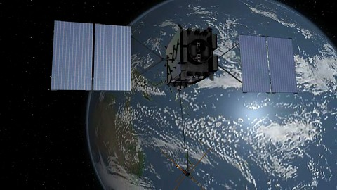 GPS-III-Satellit - Lockheed Martin