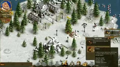 Weihnachten in Die Siedler Online