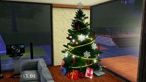 Die Sims 3 wünscht frohe Weihnachten