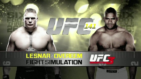UFC Undisputed 3 - Trailer (Overeem vs. Lesnar)