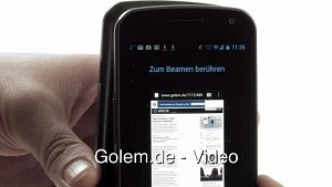 Galaxy Nexus - Beam-Funktion von Android 4.0