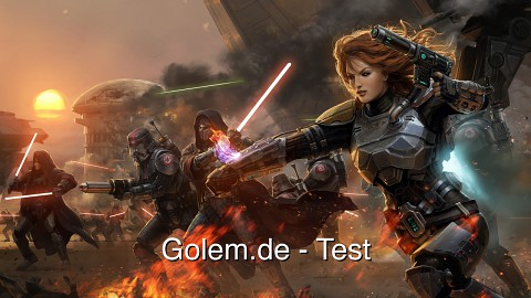 Star Wars The Old Republic - Test