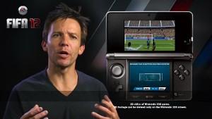 EA Sports über Fifa 12 für Nintendo 3DS