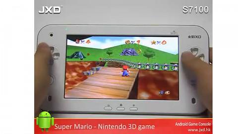 Apps und Games auf dem S7100 von JXD